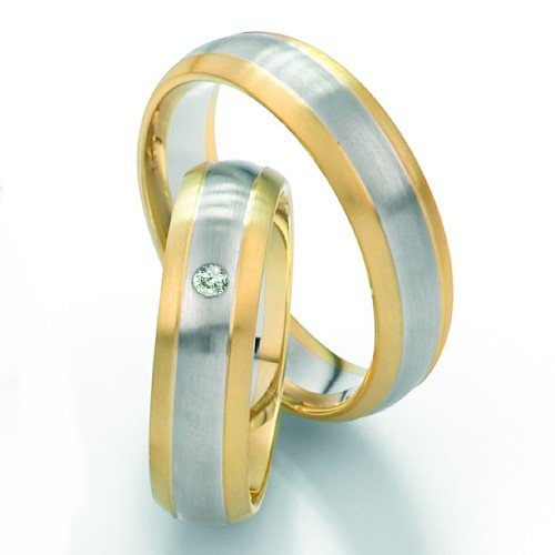 Saint Maurice Twin Set Ringe Trauringe Eheringe in Bochum aus Platin Palladium Weißgold Graugold Rotgold Gelbgold