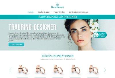 Trauring Konfigurator Designer by Rauschmayer